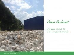 Ứng dụng của bột đá Canxi Cacbonat (CaCO3)