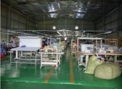 Xưởng sản xuất quần áo thể thao
