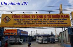 Công ty Ô Tô Miền Nam Tây Nguyên phân phối xe tải nhập khẩu, xe tải lắp ráp, các loại xe tải, xe chuyên dùng Hino, Isuzu, Hyundai