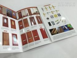 Mẫu brochure sản phẩm cửa gỗ - Nhận thiết kế brochure sản phẩm chuyên nghiệp tại TPHCM