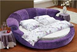 10 mẫu phòng ngủ sang trọng với chiếc giường tròn cao cấp, giá rẻ TPHCM