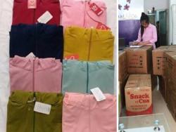 Tìm xưởng may áo khoác giá rẻ tại TPHCM