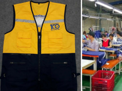Xưởng may áo gió giá rẻ - bỏ sỉ áo khoác gió giá rẻ toàn quốc