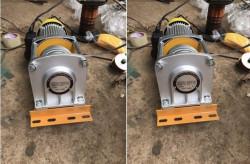 Kinh nghiệm chọn mua máy tời điện cho công trình xây dựng