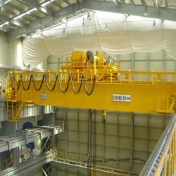 Tìm hiểu đặc điểm của cầu trục gian máy - Công Ty Cầu Trục Trung Nguyên
