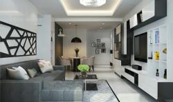 Mẫu nội thất phòng khách nhà phố TPHCM