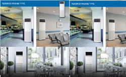 Hai thương hiệu máy lạnh tủ đứng inverter khách hàng tin dùng là Daikin và LG