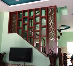 Nhận làm mẫu vách ngăn che giữa phòng khách và cầu thang cnc