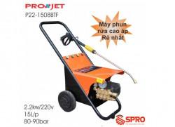 Đánh giá máy phun rửa cao áp Projet P22-1508BTF - Công suất 2.2kw