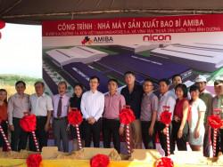 Nicon làm tổng thầu thiết kế - thi công xây dựng nhà máy in Amiba - Poma