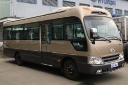Hyundai Thành Công đã chính thức phân phối dòng xe khách County 29 ghế tại thị trường Việt Nam