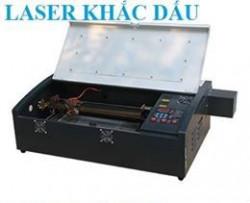 Máy laser chuyên cắt khắc con dấu cao su chất lượng tốt