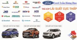 Mua xe Ford trả góp lãi suất cực thấp tại Ford Trần Hưng Đạo