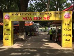 Tân Tân có mặt tại lễ hội văn hóa ẩm thực chay