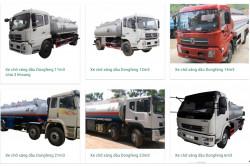 Đánh giá chất lượng một số loại xe chở xăng dầu hiện nay