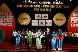 Tân Tân được vinh danh 'Nhãn hiệu nổi tiếng Việt Nam 2018'