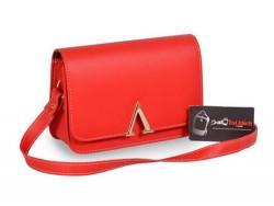 Mẫu túi xách đeo chéo màu đỏ - xưởng chuyên sỉ túi xách thời trang nữ tại Tp.HCM