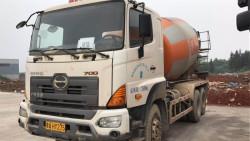 Ưu điểm vượt trội của xe trộn bê tông HINO