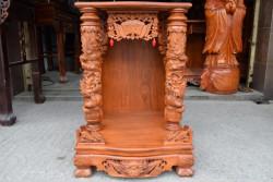 Mua bàn thờ Ông Địa, Thần Tài gỗ cẩm lai cao cấp