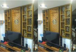 Mốt trang trí nội thất đẹp từ lam gỗ công nghiệp trang trí cnc