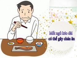 Triệu chứng mất ngủ kéo dài có thể gây chán ăn?