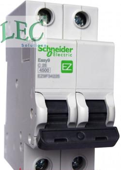 Cung cấp EZ9D34610 - Easy9 chống giật 1P-N 10A 4.5kA 30mA