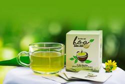 Công dụng của trà giảm cân Hoa Sâm đất dạng viên