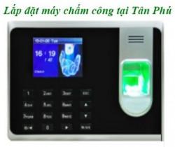 Chuyên phân phối, lắp đặt máy chấm công vân tay tại Tân Phú HCM
