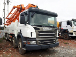 Xe bơm bê tông 56M cần Cifa, đầu Scania, sản xuất năm 2012