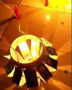 6 bước làm lồng đèn trung thu từ lon nước ngọt, lon bia nhanh chóng dễ dàng