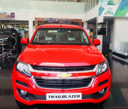 Mua trả góp xe Chevrolet Trailblazer tại TPHCM