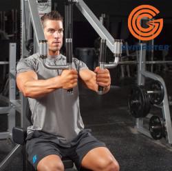 Body cực chuẩn với máy tập ngực