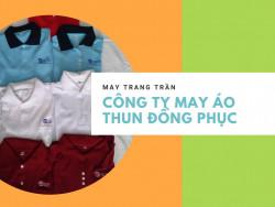 Công ty may áo thun đồng phục Bình Dương