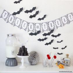 Mô hình PP cán format trang trí Halloween nhanh chóng nhưng đầy chất ma mị