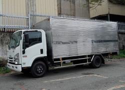 Bảng giá Isuzu 3.5 tấn thùng kín, thùng mui bạt