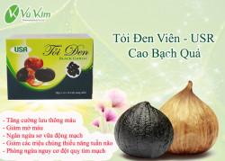 Tỏi đen cao bạch quả viên nang - Bảo vệ sức khỏe gia đình bạn