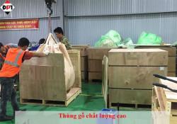 Dịch vụ đóng thùng gỗ an toàn trước khi vận chuyển