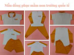Tư vấn báo giá đồng phục mầm non cho trường mầm non quốc tế, trường mẫu giáo TPHCM