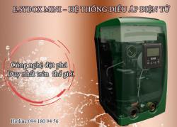 Máy bơm tăng áp biến tần Esybox mini nhỏ gọn đẩy cao lên đến 55 mét
