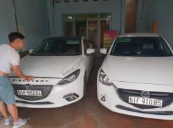 Cho thuê xe 4 chỗ Mazda 3 giá rẻ tại TPHCM