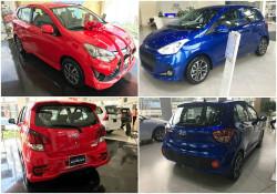 So sánh Toyota Wigo và Hyundai Grand i10