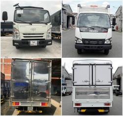 So sánh xe tải Isuzu 1.9 tấn và xe tải Hyundai 1.9 tấn