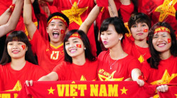Xưởng may áo thun đội tuyển Việt Nam vô địch AFF cup