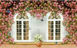Mẫu tranh dán tường đẹp được nhiều người yêu thích
