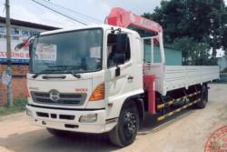 Đánh giá xe tải Hino FG8JPSU gắn cẩu Unic UR-V630K