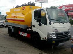 Đánh giá nhanh xe bồn chở xăng dầu Hino Dutro WU342L 6 khối