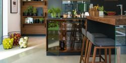 Xu hướng thiết kế bếp: Sự trở lại của cửa kính