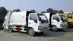 Đánh giá nhanh xe cuốn ép rác Isuzu 6 khối nhập khẩu