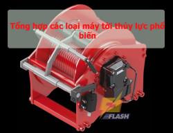 Thông tin về 3 loại máy tời thủy lực thịnh hành hiện nay