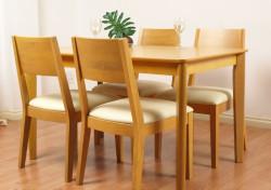 7 bí quyết chọn mẫu ghế gỗ bàn ăn phù hợp cho phòng bếp lý tưởng